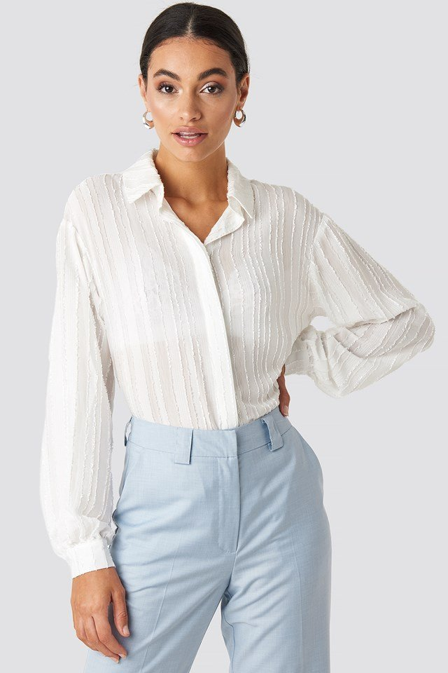 Structured Blouse White