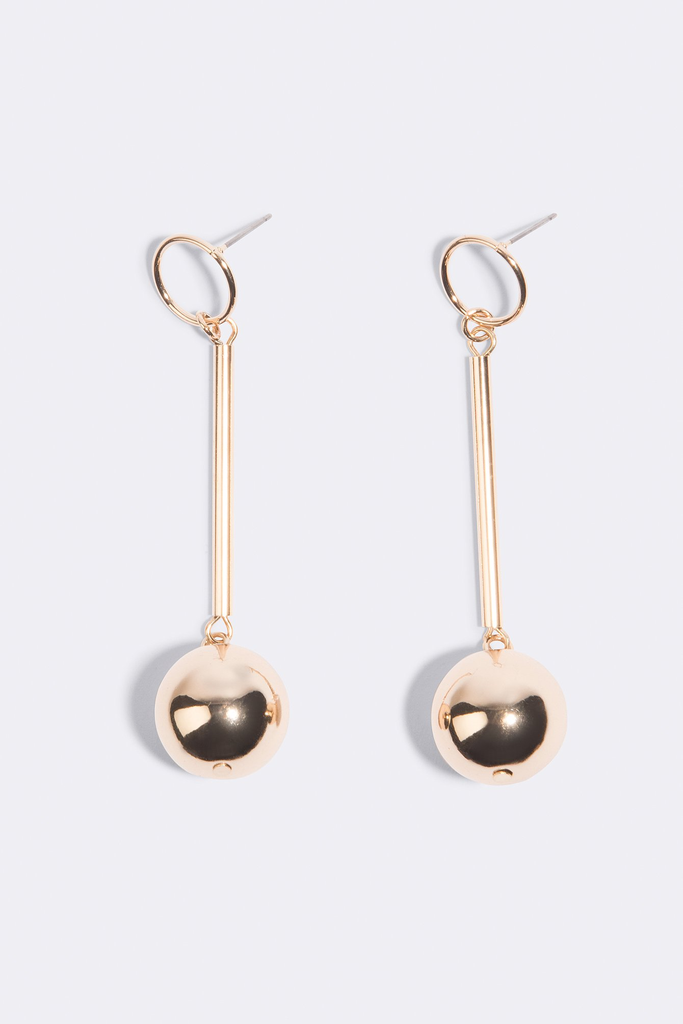 Structured Globe & Bar Earrings NA-KD.COM
