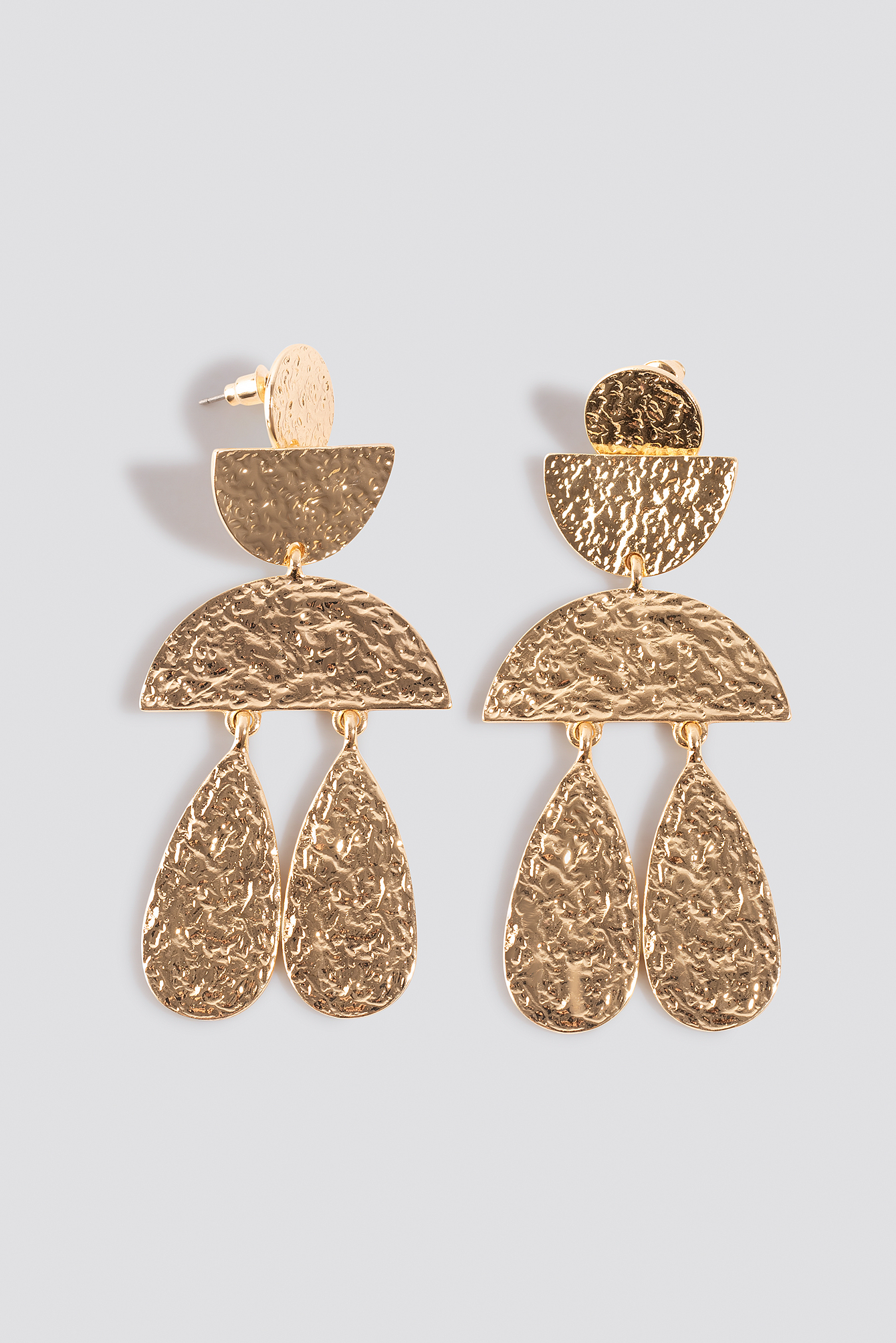 Structured Ornament Earrings NA-KD.COM