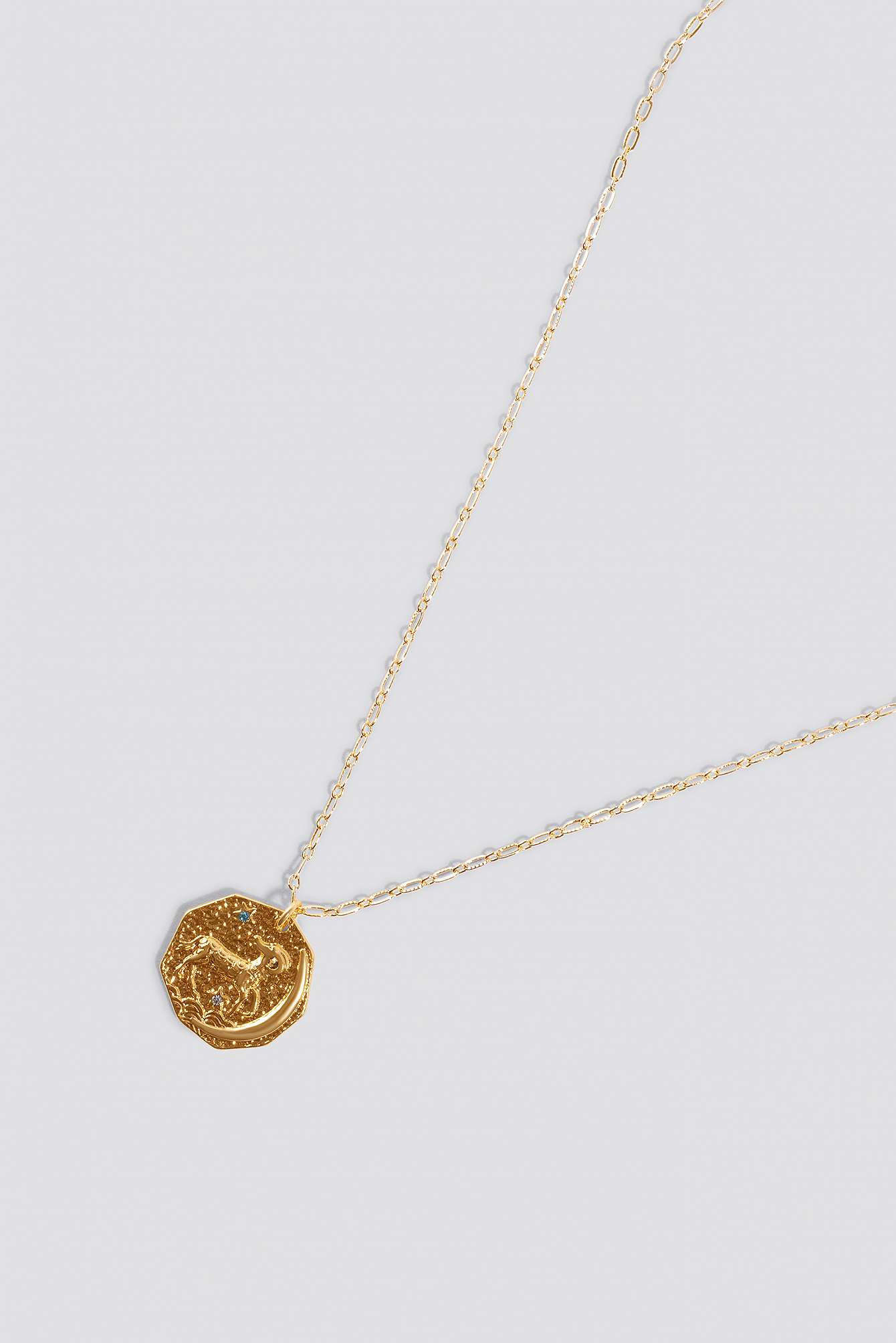 Structured Zodiac Aries Necklace NA-KD.COM