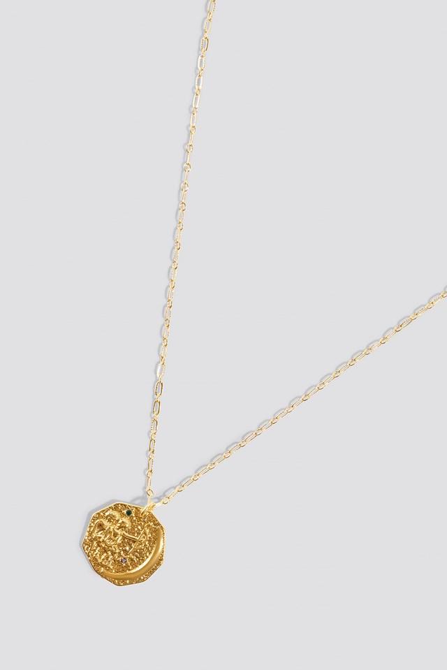 Structured Zodiac Gemini Necklace NA-KD.COM