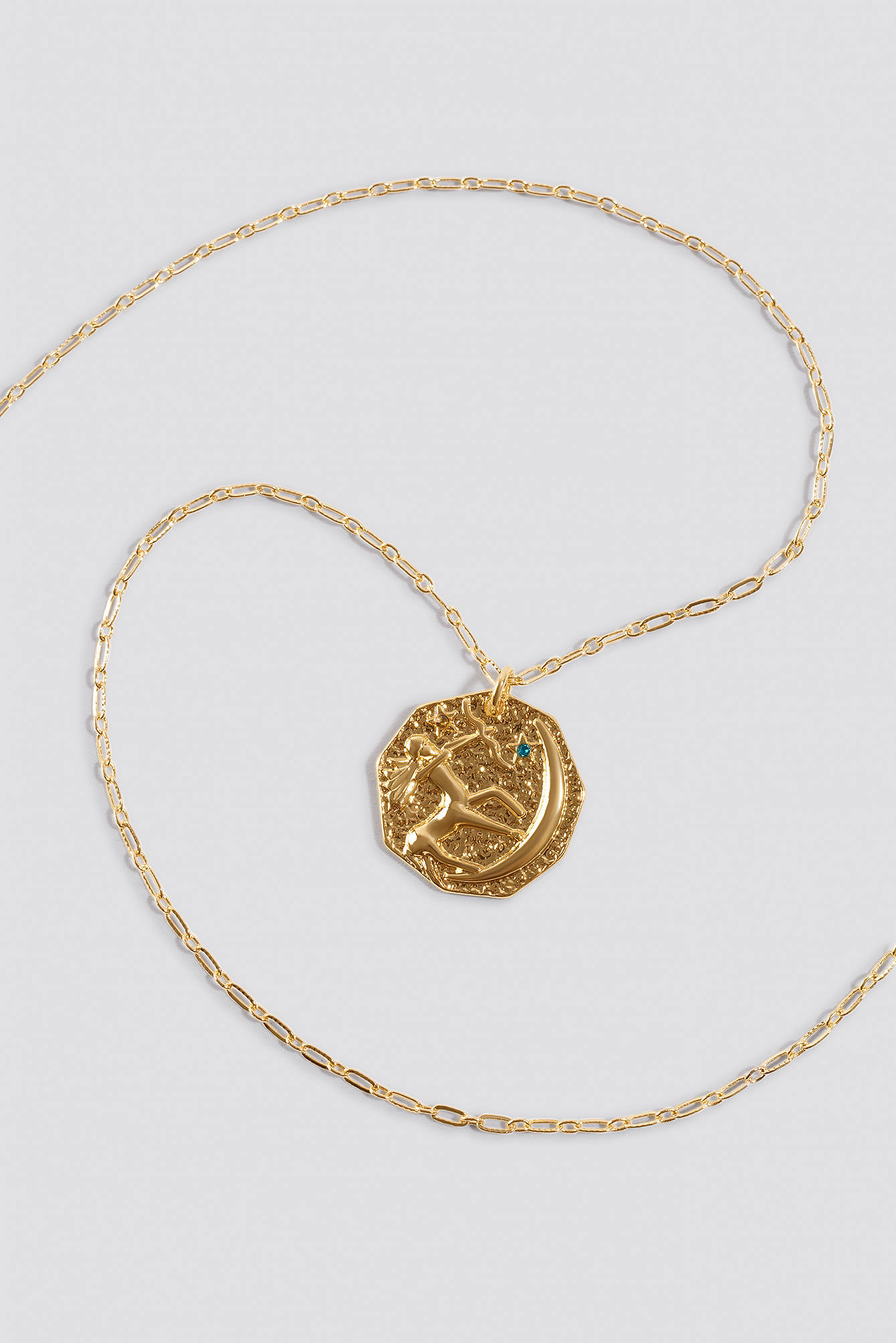 Structured Zodiac Sagittarious Necklace NA-KD.COM