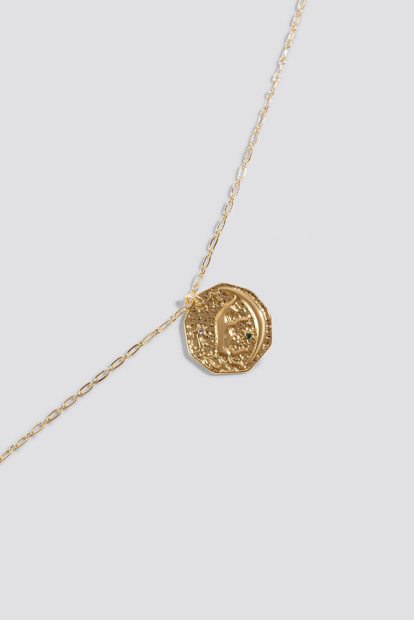 Structured Zodiac Taurus Necklace NA-KD.COM