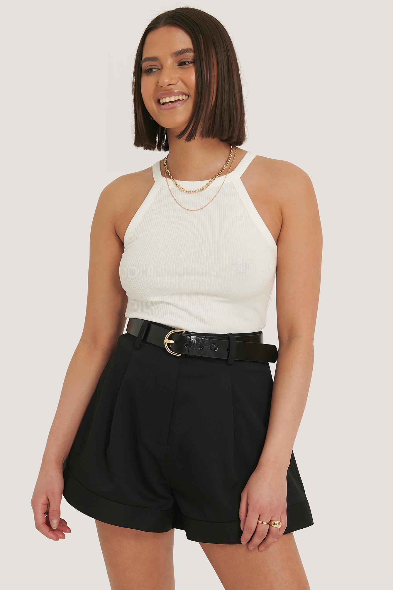 NA-KD Trend Maßgeschneiderte Kurze Hose - Black | Bekleidung > Hosen > Sonstige Hosen | NA-KD Trend