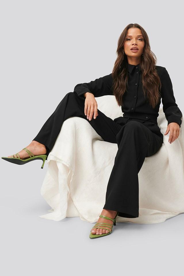 Tailored Jumpsuit Black