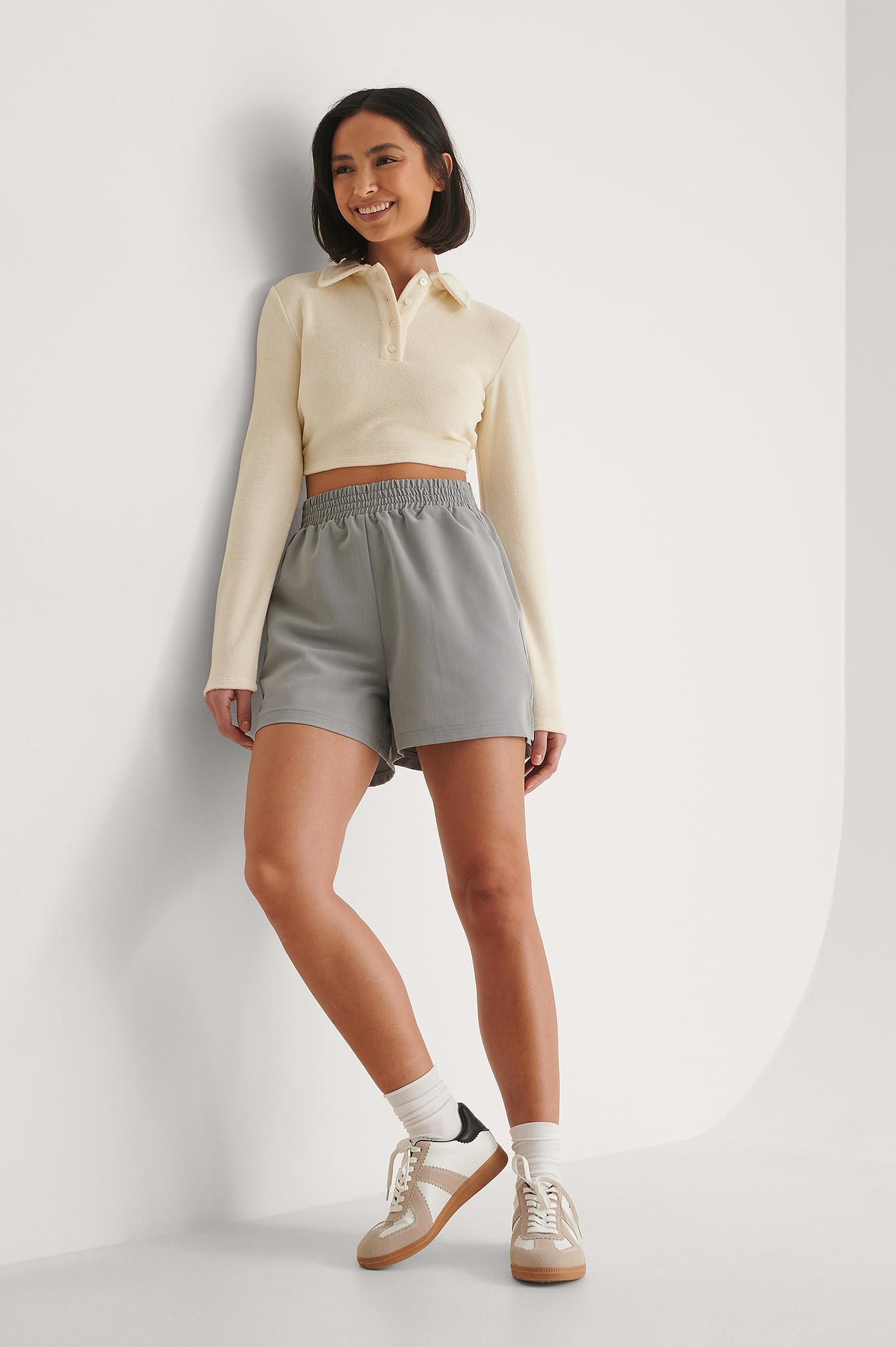 NA-KD Shorts - Grey