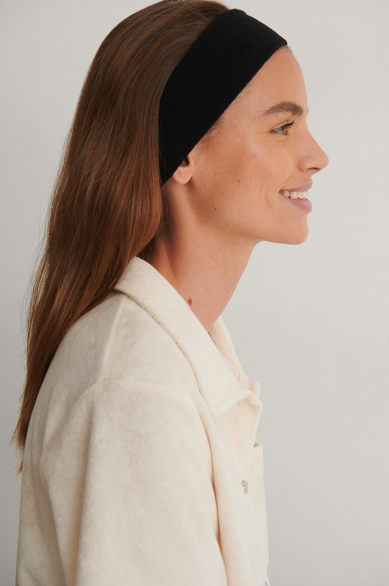 na-kd reborn -  Organisch Haarband - Black