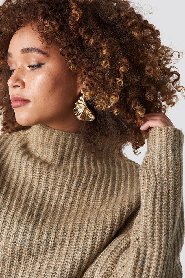 Textured Earrings NA-KD.COM