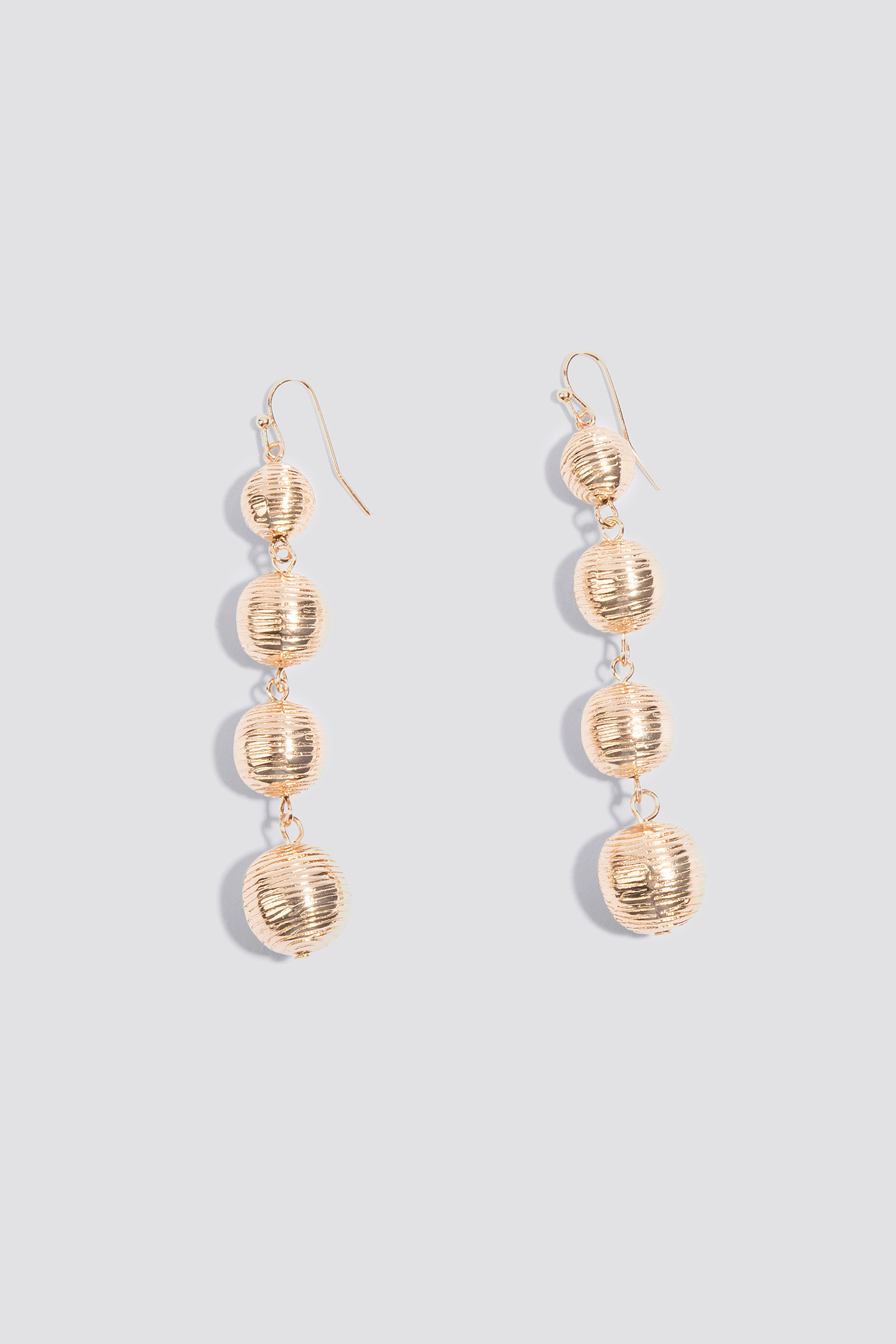 Textured Globe Drop Earrings NA-KD.COM