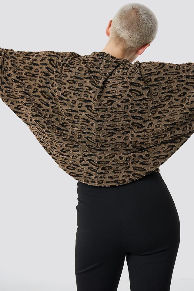 Textured Leopard Top NA-KD.COM