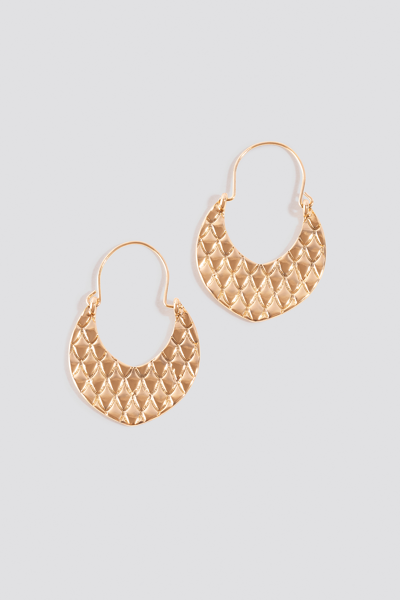 Textured Ornament Earrings NA-KD.COM