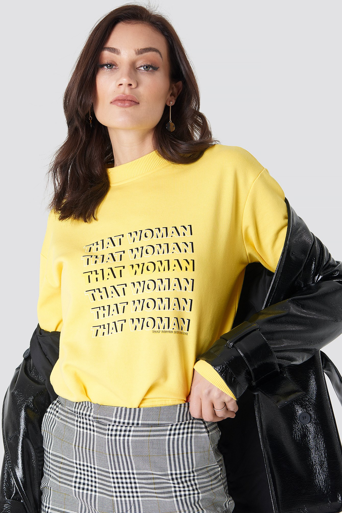 THAT WOMAN SWEATER - YELLOW