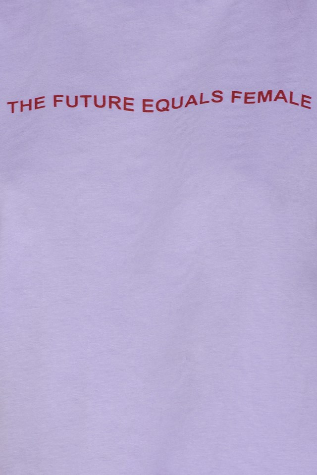 The Future Equals Female Tee NA-KD.COM