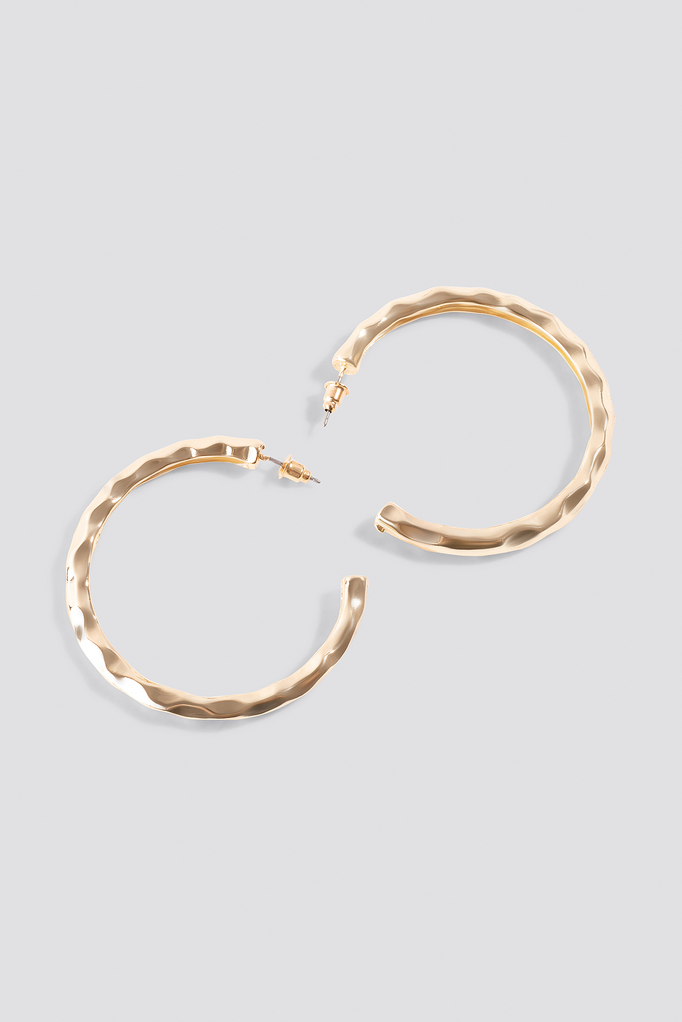 Thick Textured Hoops NA-KD.COM