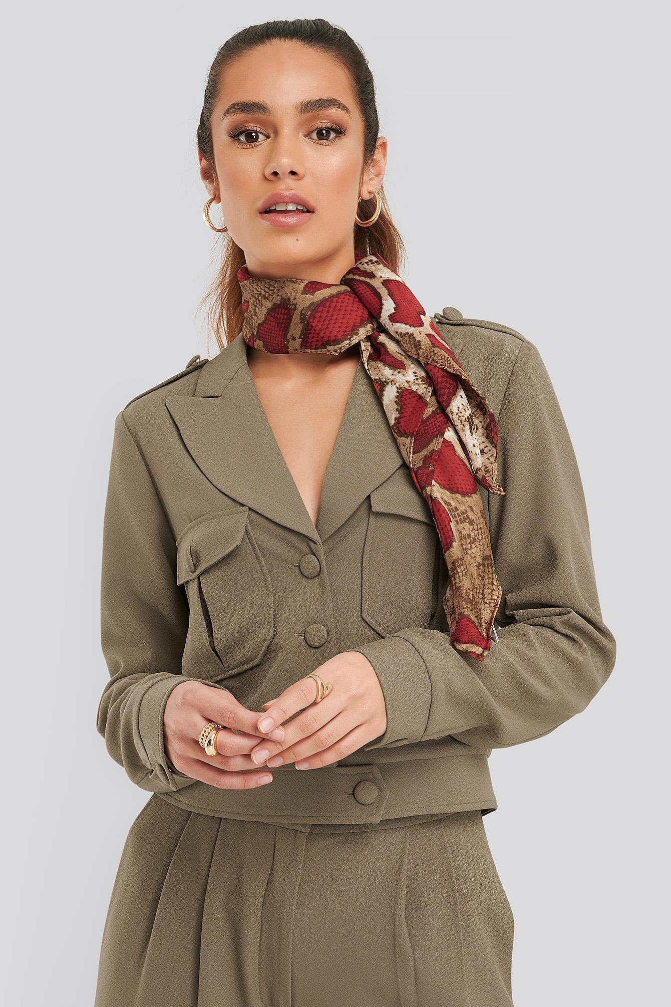 na-kd accessories -  Schal - Red