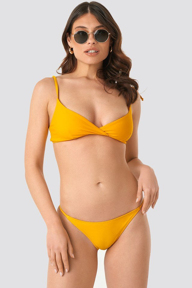 Thin Strap Bikini Briefs Citrus