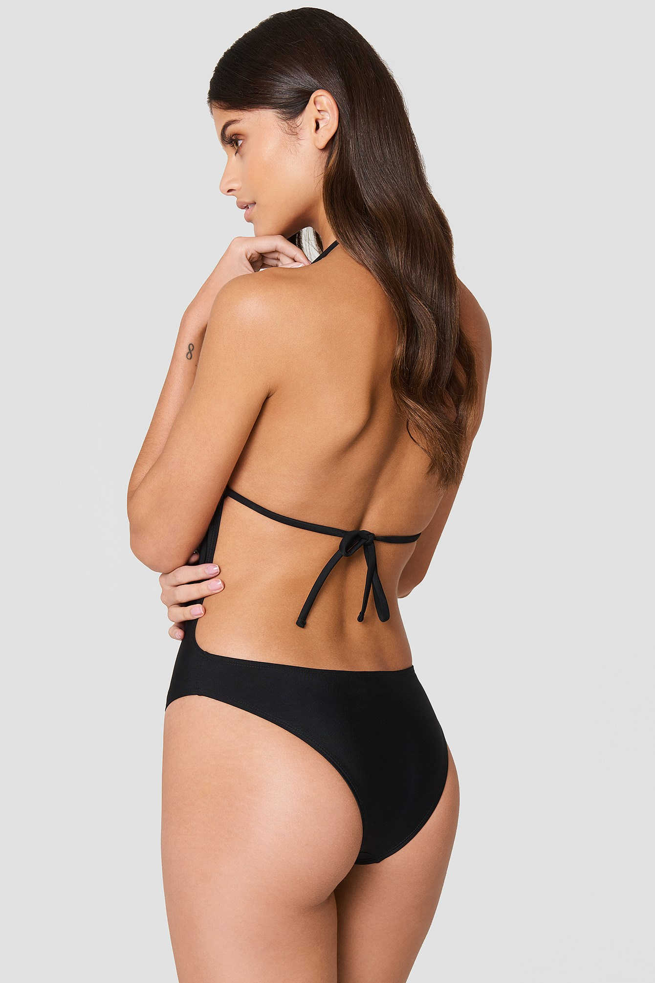 Tied Back Cup Swimsuit NA-KD.COM