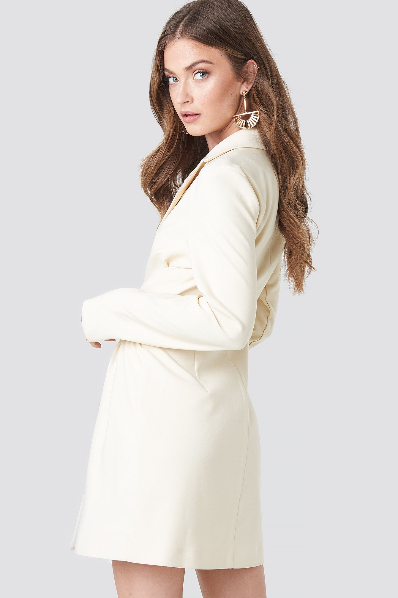 Tied Front Blazer Dress NA-KD.COM