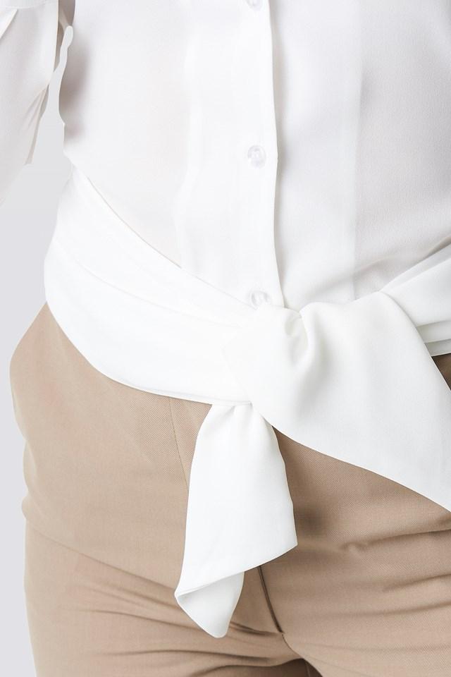 Tied Waist Shirt NA-KD.COM