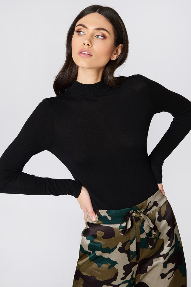 Tight Turtleneck LS Top NA-KD