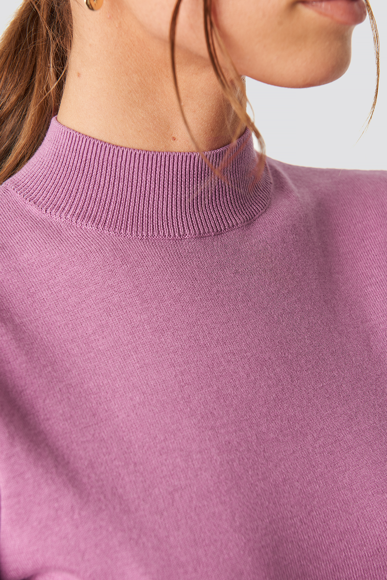 Tight Turtleneck LS Top NA-KD.COM