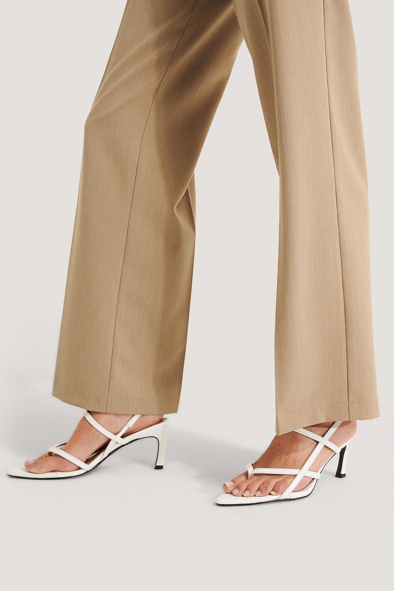 na-kd shoes -  Sandalen - White