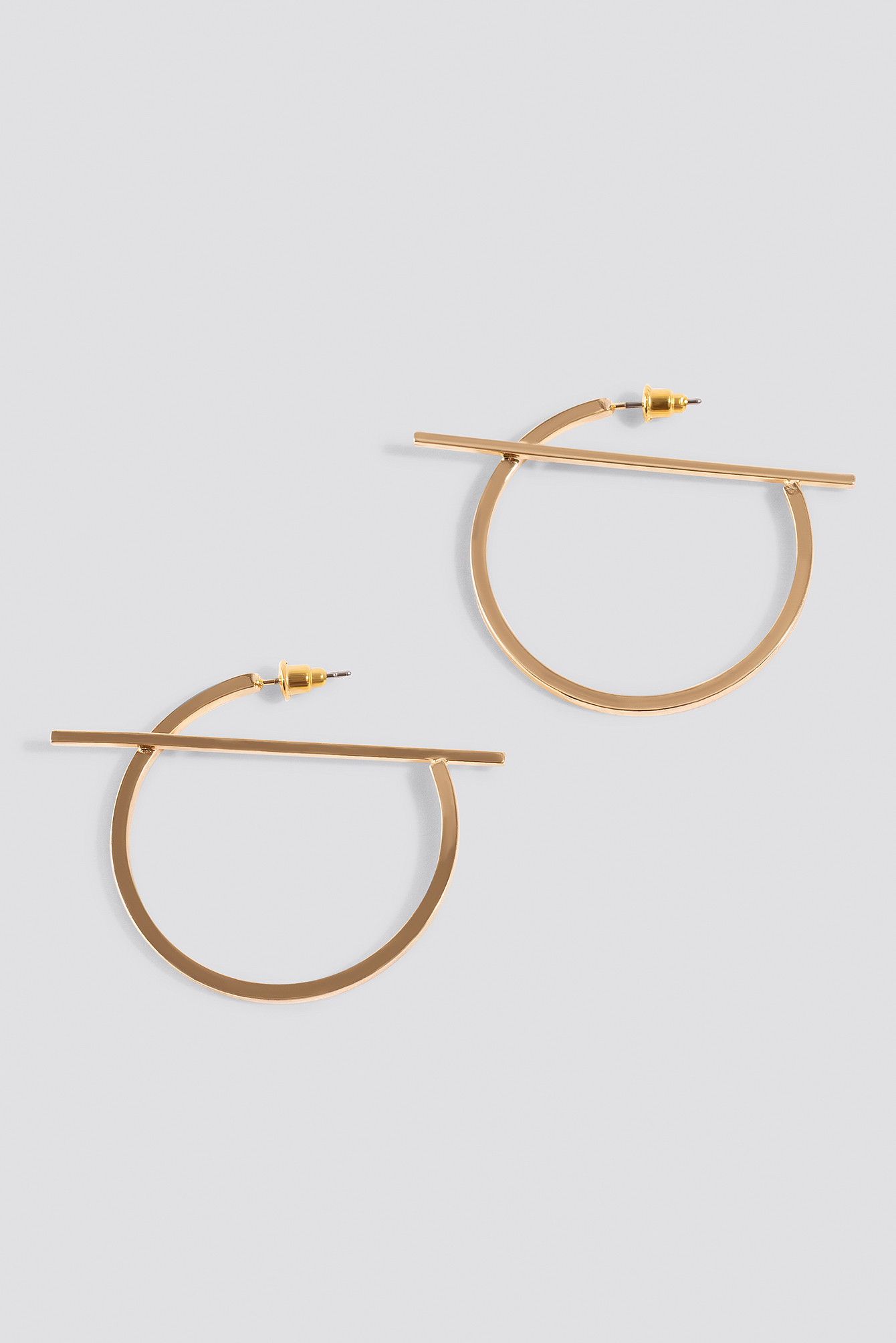 Top Bar Hoop Earrings NA-KD.COM