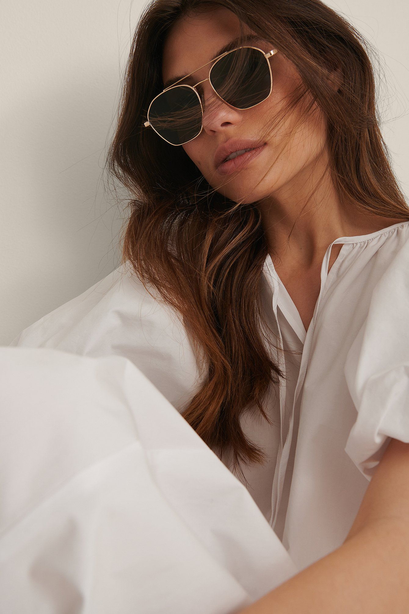 na-kd accessories -  Sonnenbrille - Green