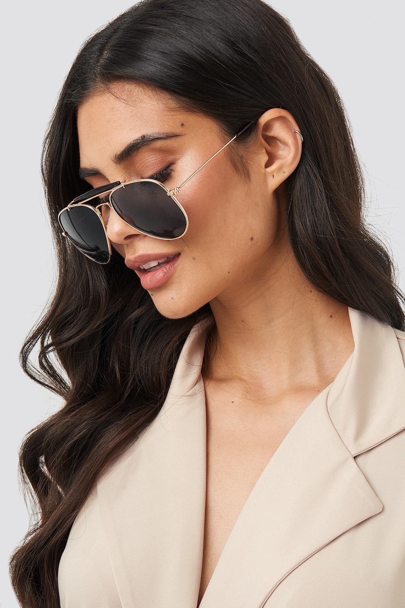 Top Bridge Pilot Sunglasses NA-KD.COM