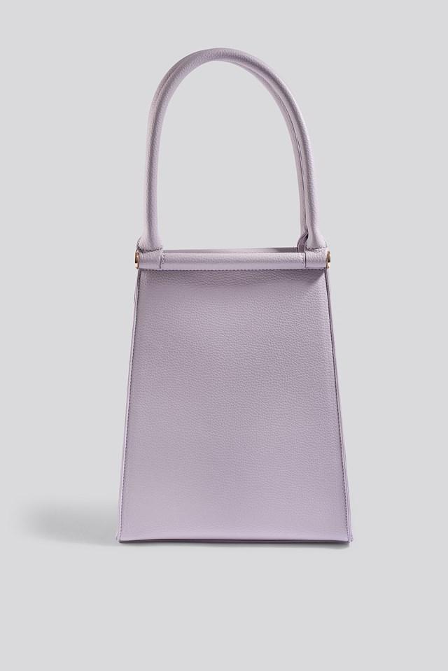 Top Handle Trapeze Bag Lilac