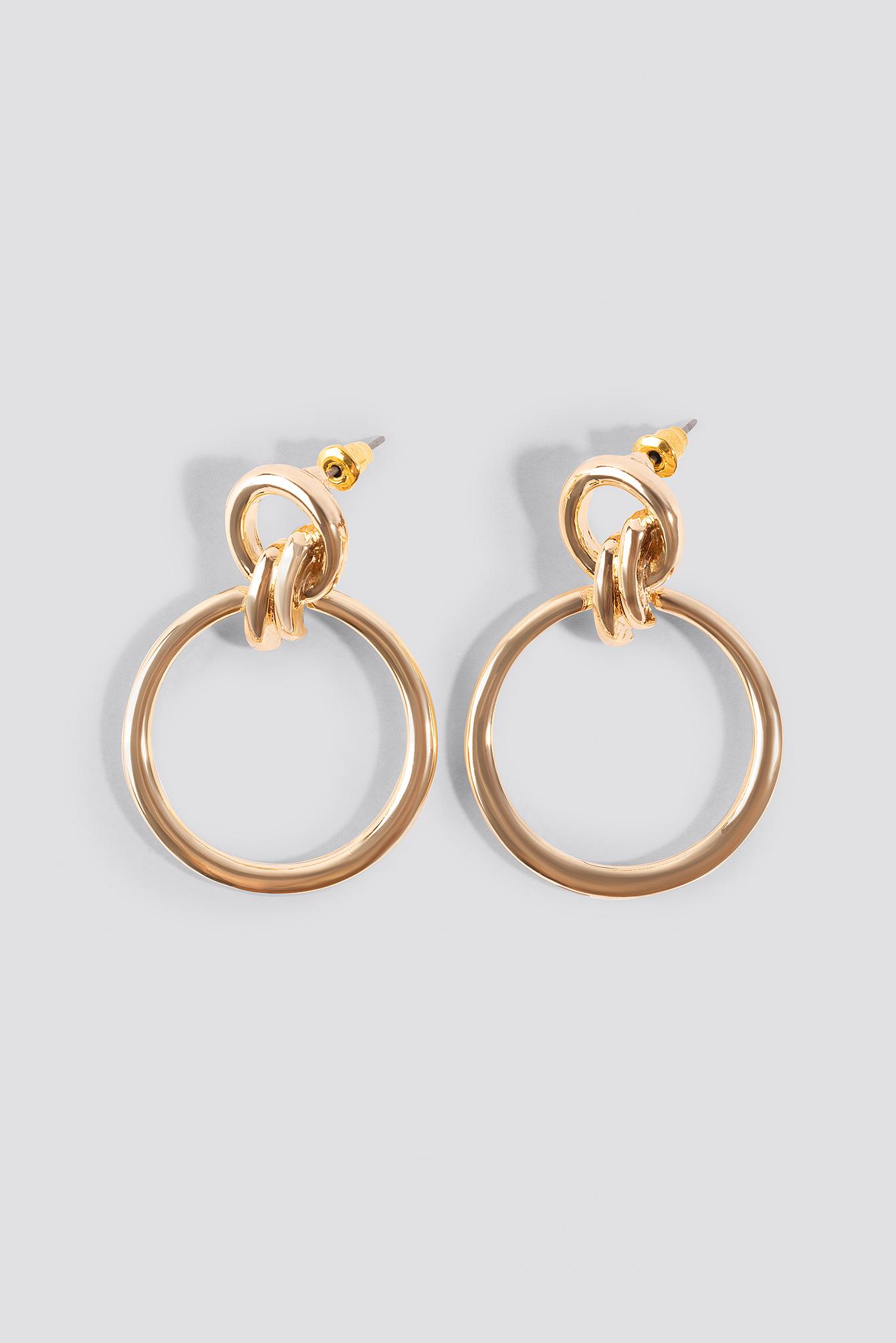 Top Knot Hoop Earrings NA-KD.COM