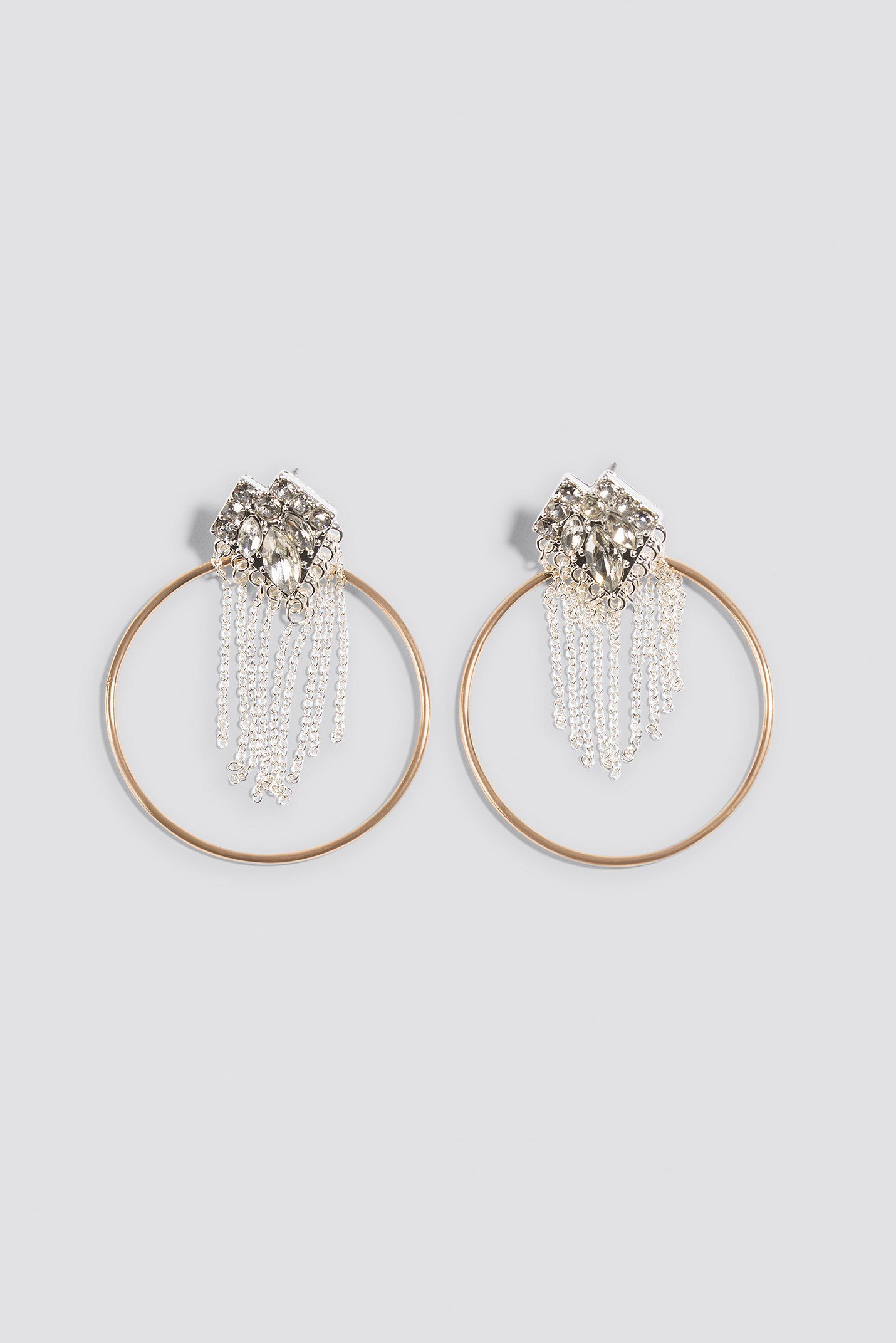 Top Sparkle Hoop Earring NA-KD.COM