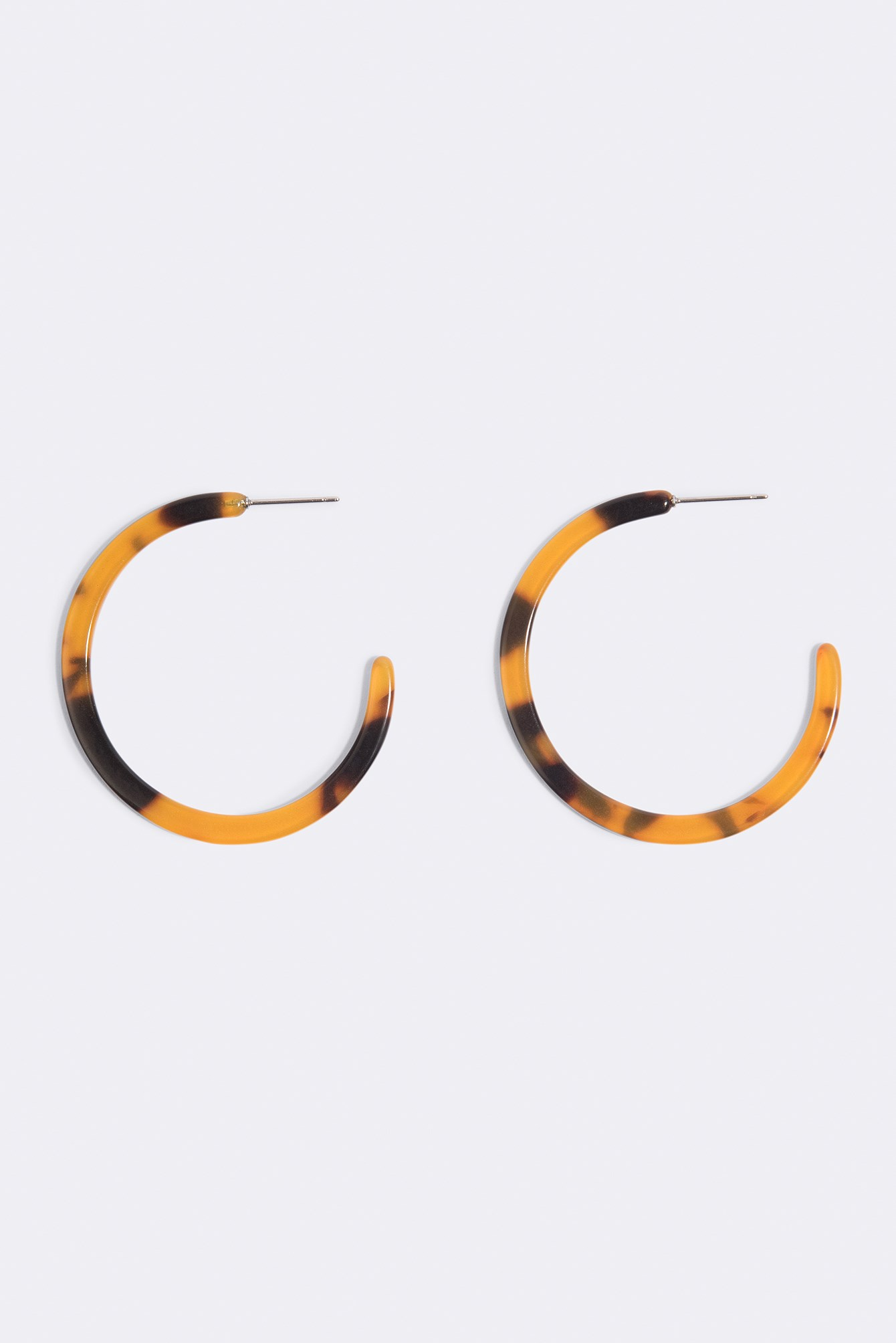 Tortoise Shell Hoop Earrings NA-KD.COM