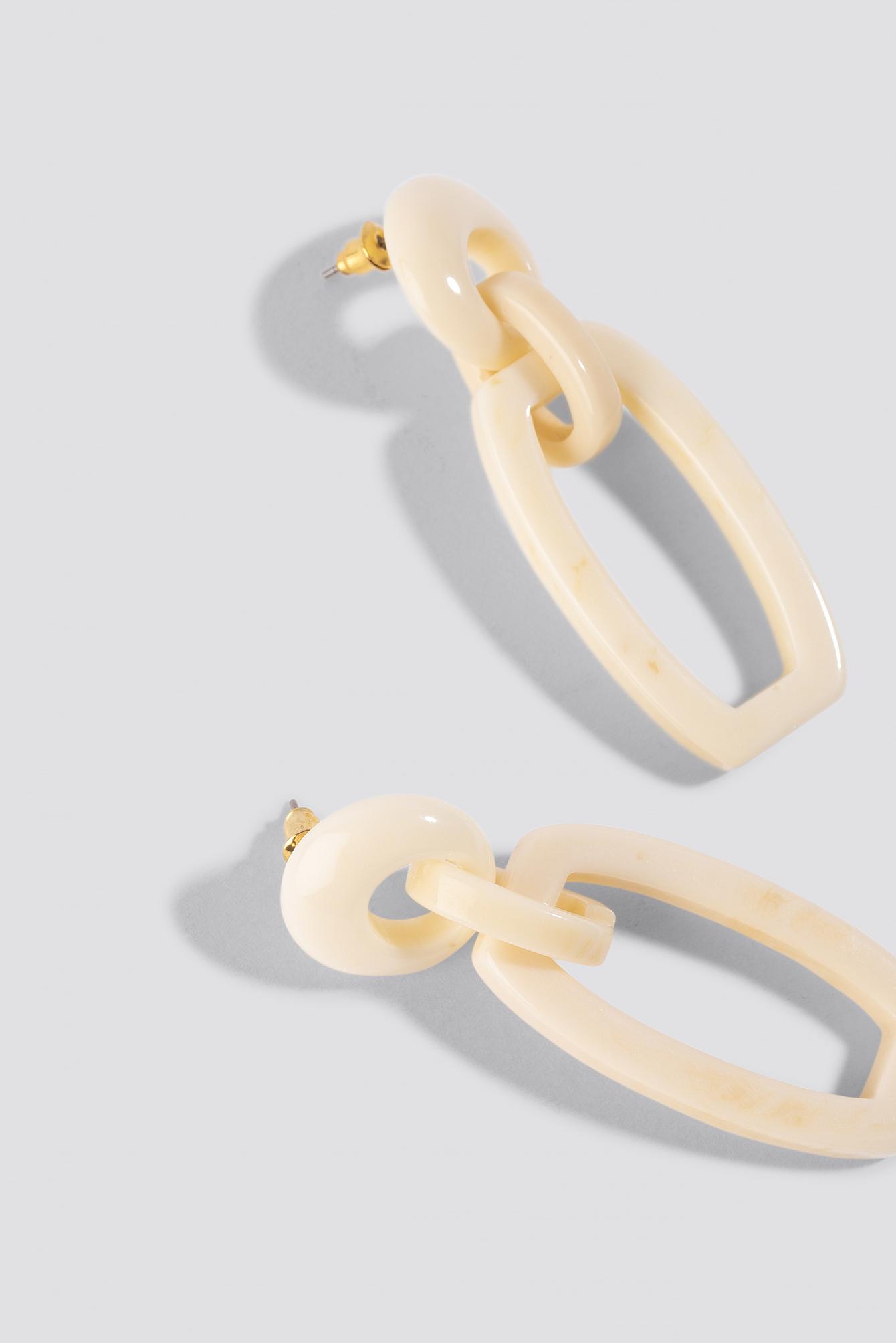 Tortoise Square Drop Earrings NA-KD.COM