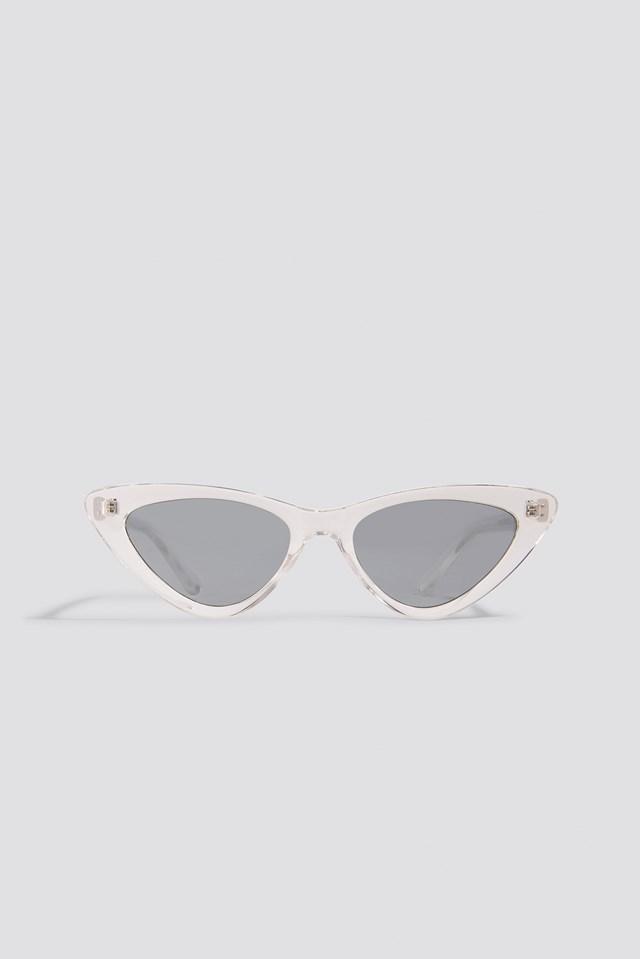 Transparent Cateye Sunglasses NA-KD.COM