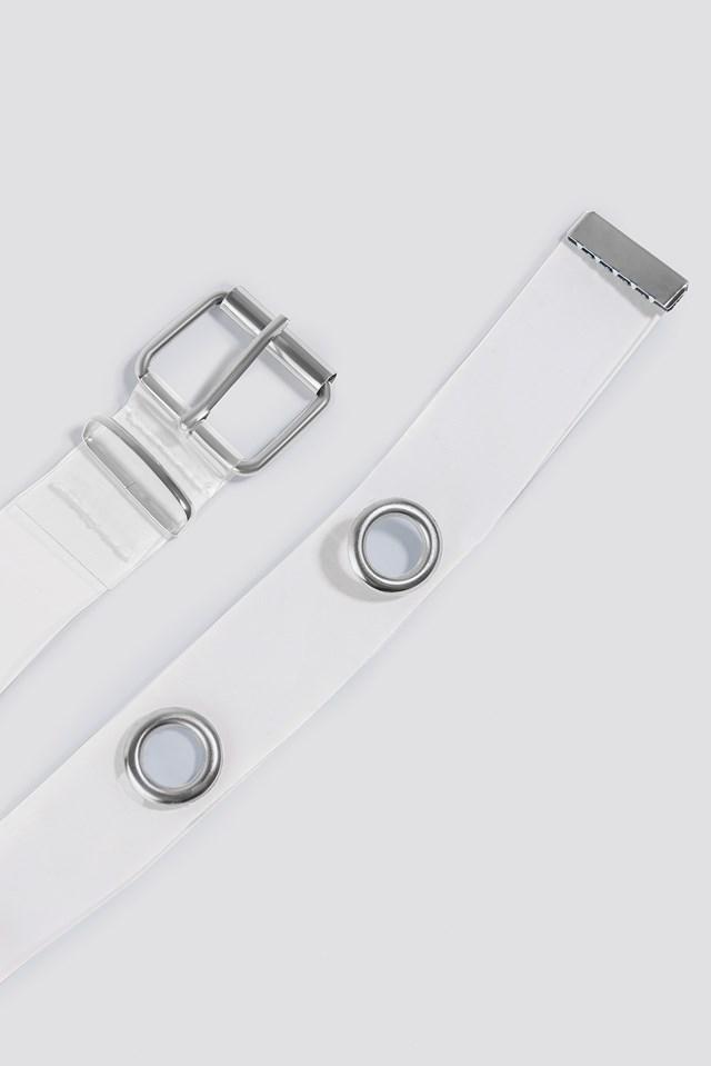 Transparent Eyelet Belt NA-KD.COM