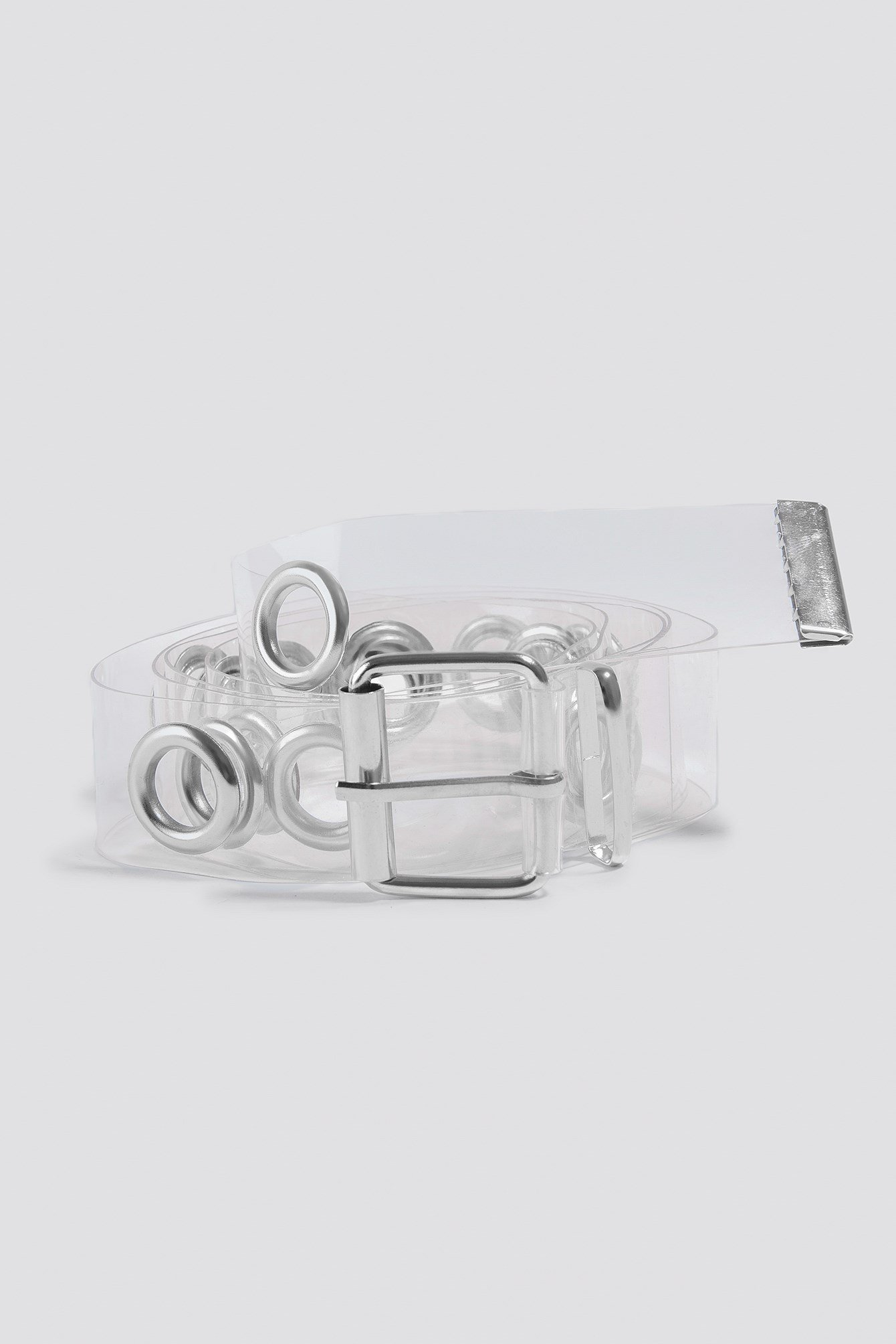 Transparent Eyelet Belt NA-KD.COM