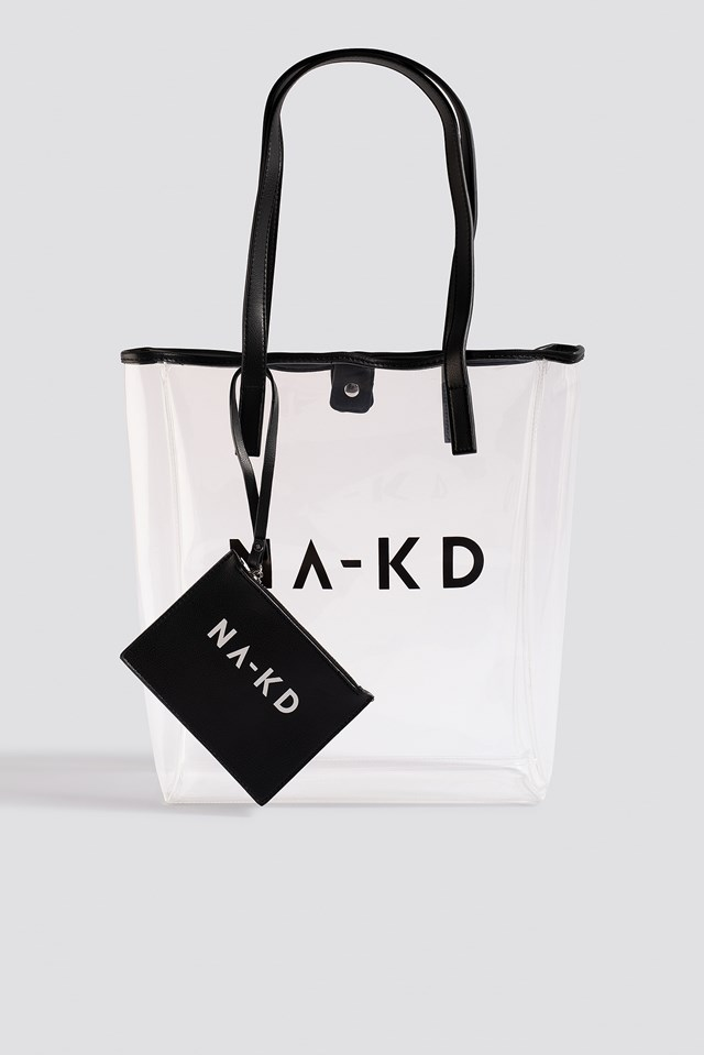 Transparent NA-KD Bag Transparent