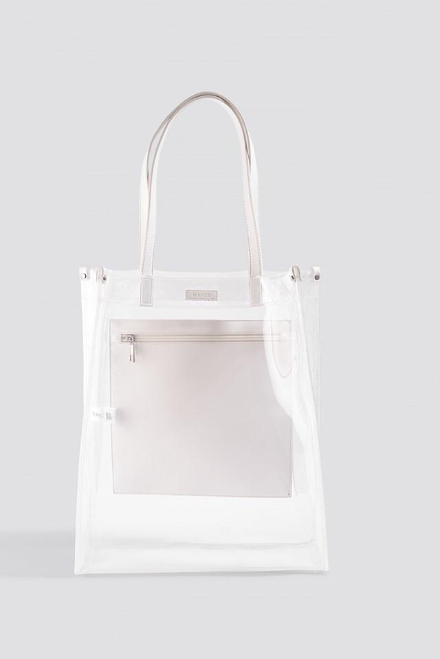 Transparent Tote Bag Transparent