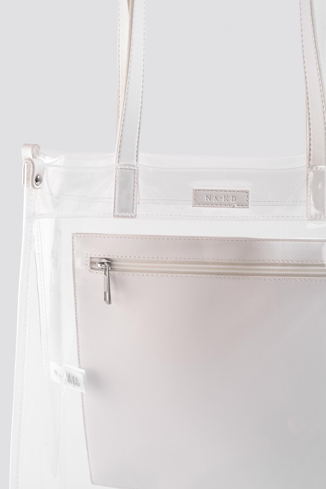 Transparent Tote Bag NA-KD.COM