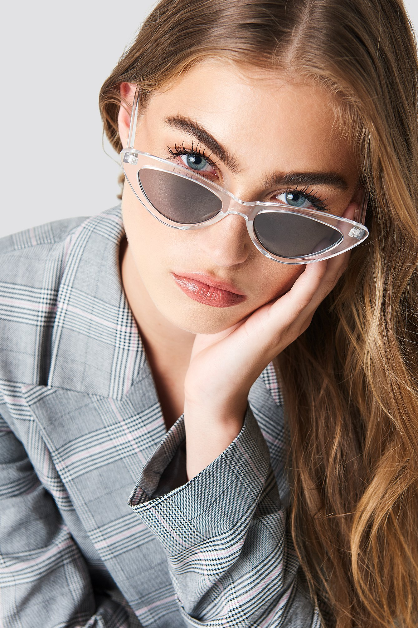 Transparent Cateye Sunglasses NA-KD.COM