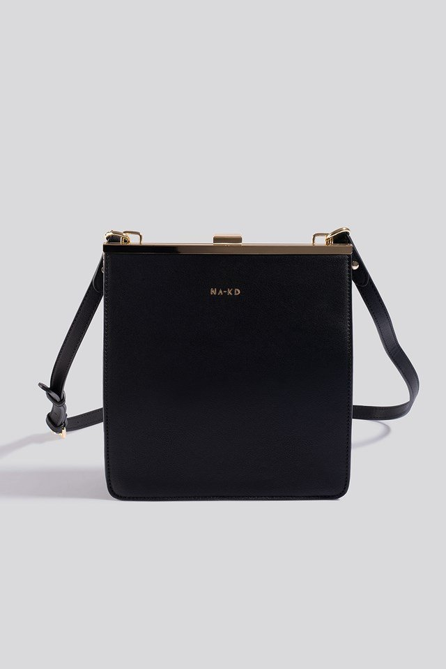 Trapez Frame Bag Black