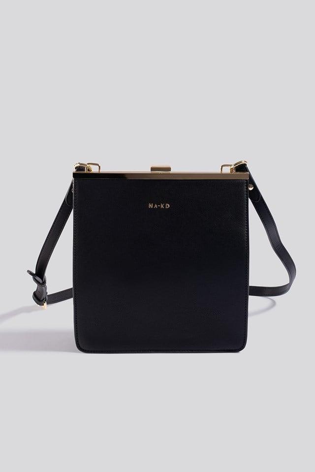 Trapez Frame Bag Black