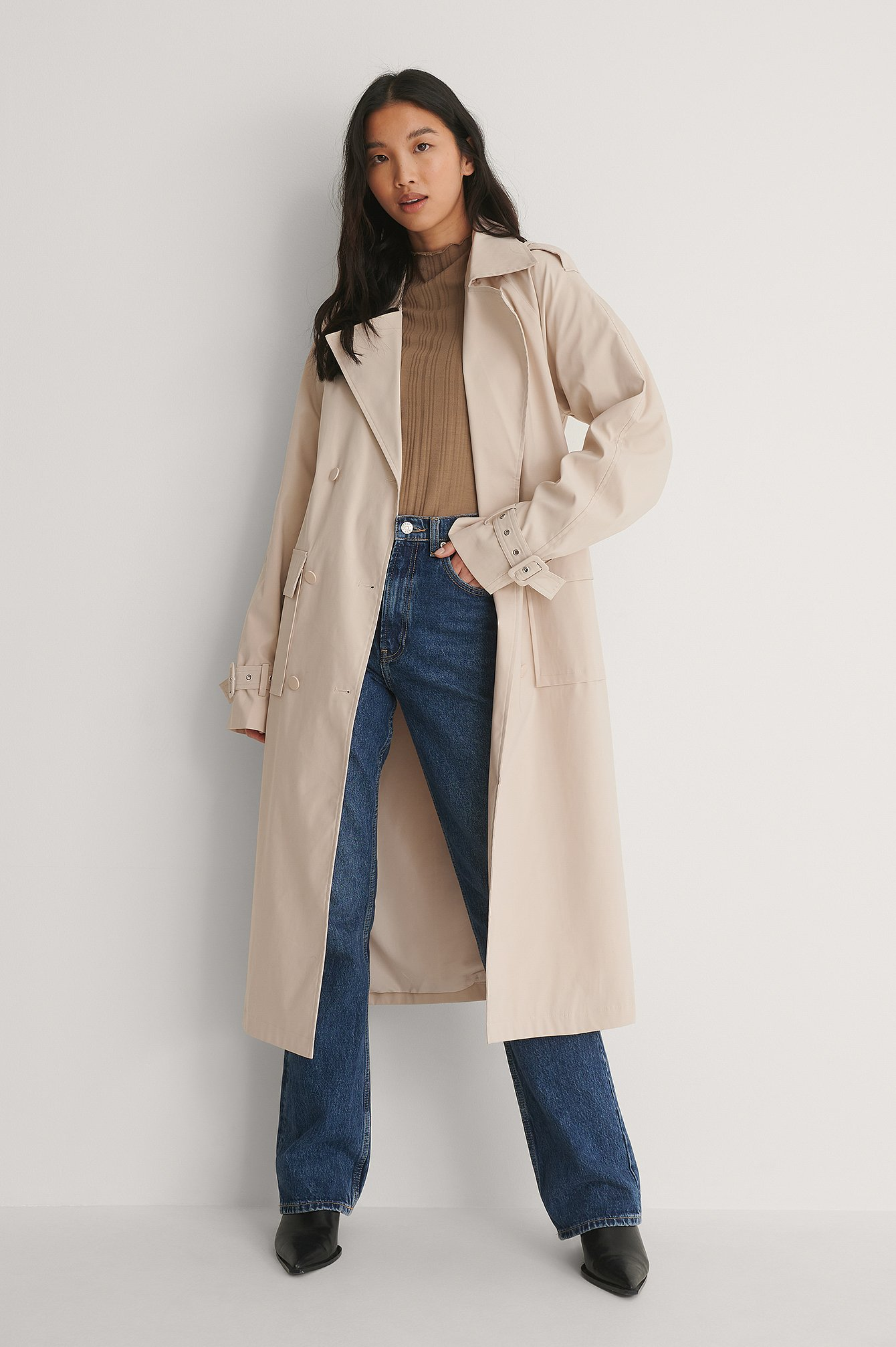 Light Beige Trenchcoat