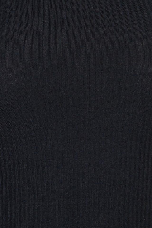 One Sleeve Rib Jersey Top NA-KD.COM