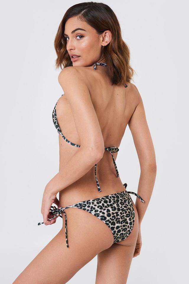 Triangle Bikini Top Leoprint