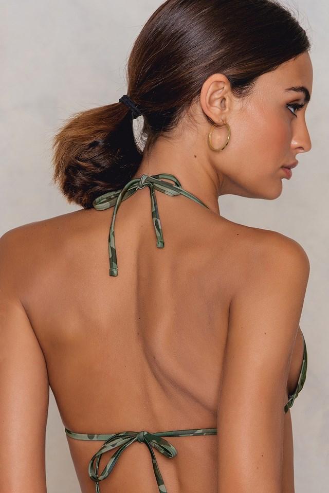 Triangle Bikini Top Army