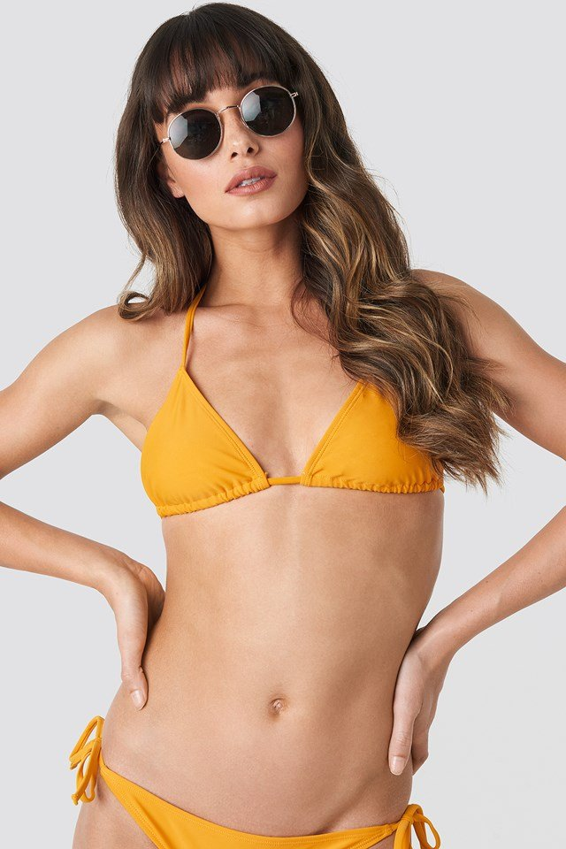 Triangle Bikini Top Citrus