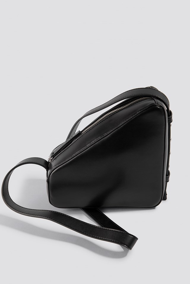 Triangle Handbag Black