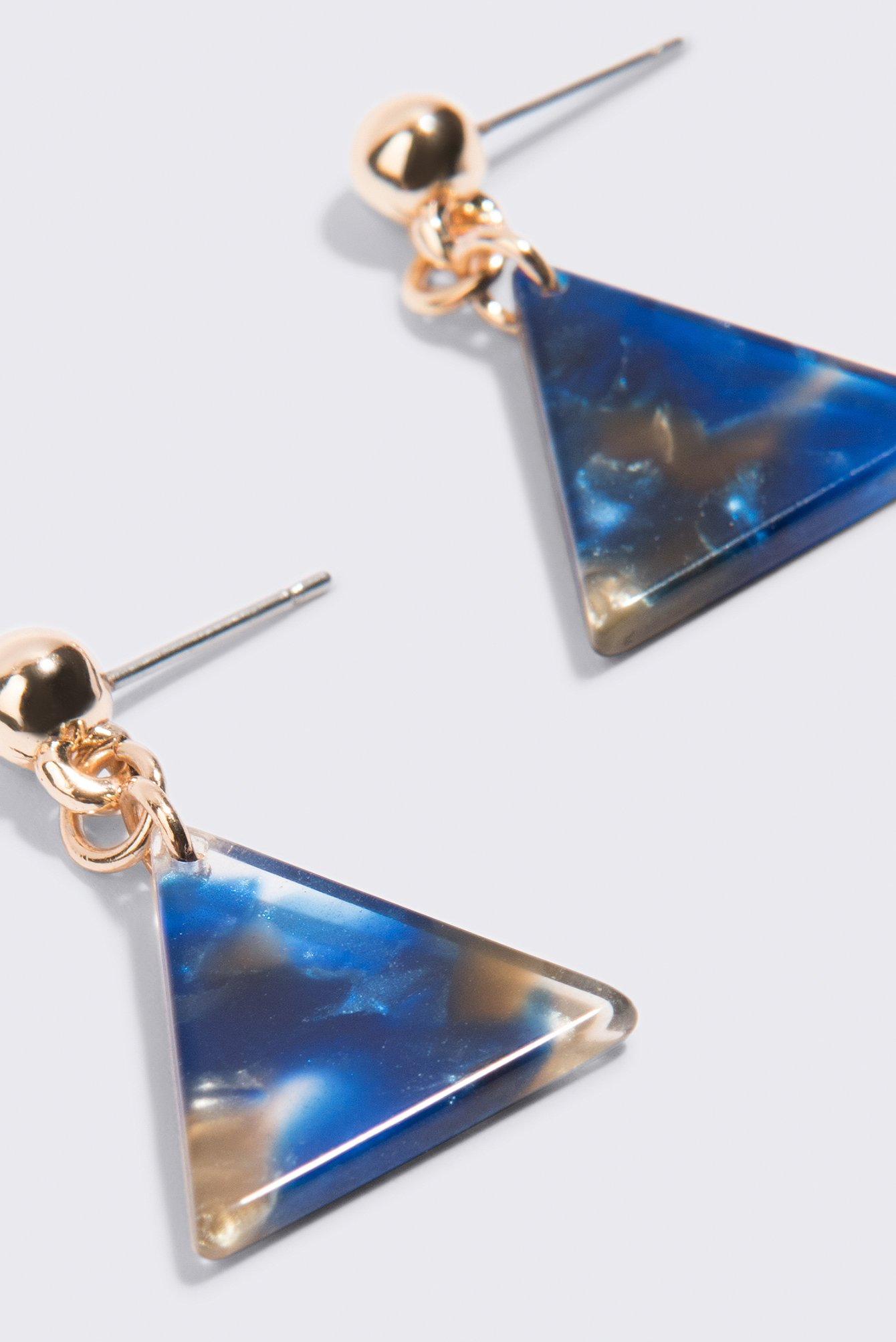 Triangle Shaped Resin Earrings NA-KD.COM